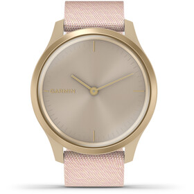 Garmin Vivomove Style Smartwatch white gold/pink